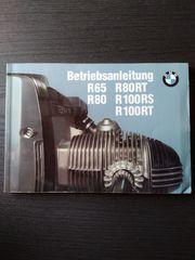 Betriebsanleitung Fahrerhandbuch BMW R65 R80