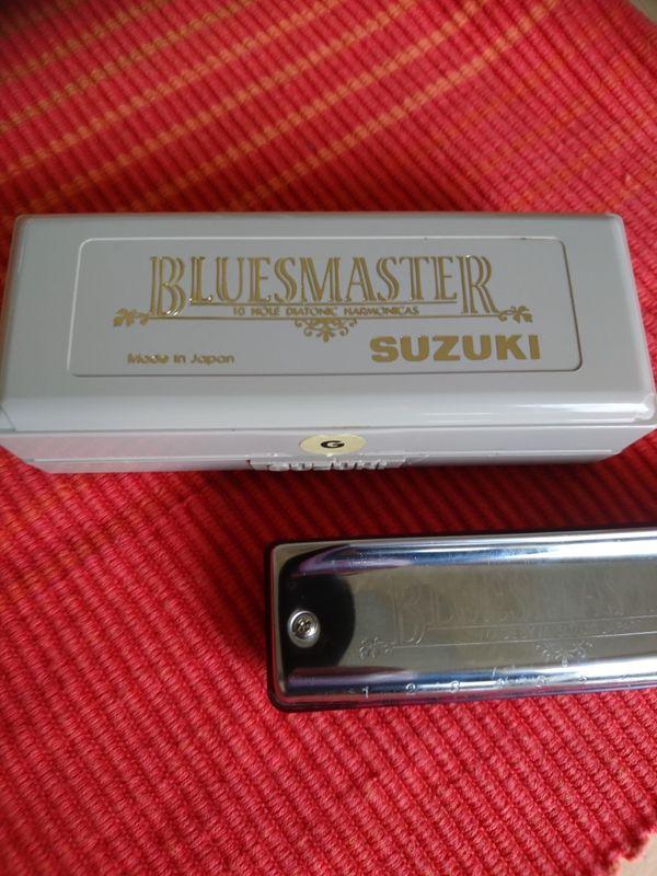 Neue Mundharmonika von Suzuki