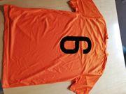 Fußball-Trikot Orange Nike 14 Stk