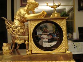 Uhren - Pendule Empire Bronze feuervergoldet