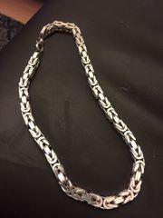 Königskette 15 mm 925 silber