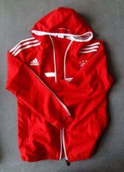 Adidas Trainingsjacke Kaputzen-Fanjacke FC Bayern