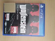 Playstation 4 Spiel - Wolfenstein