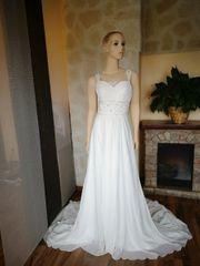 Brautkleid im Bohostil