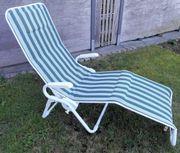 Gartenliege Sonnenliege Relaxliege Kippliege