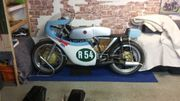 Oldtimer Echte Werksrennmaschine CZ-250cc Bj