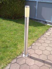 Gartenlampe aus Edelstahl 110 cm