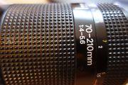 gut erhaltenes Nikon Objektiv AF