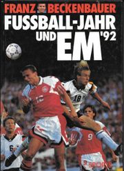 Sportbuch Fußball-Jahr und EM 1992
