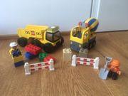 lego Duplo Baufahrzeuge Lastwagen Betonmischer