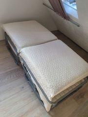 Gästebett zum Hocker klappbar