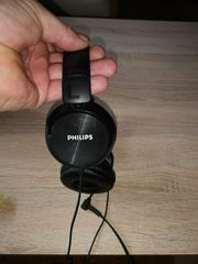 Original Philips Kopfhörer mit Adapter
