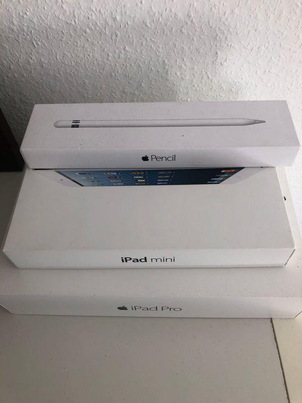 iPad Pro 128GB iPad mini
