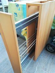 Unterschrank Apothekerschrank Softeinzug Massiv Holz