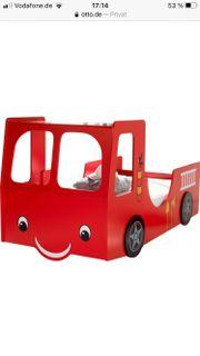 Feuerwehrauto Bett Feuerwehr Kinder Mädchen