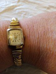 Damenuhr ca 60er Jahre Handaufzug