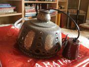 Keramik Hängelampe rustikal 70er Jahre