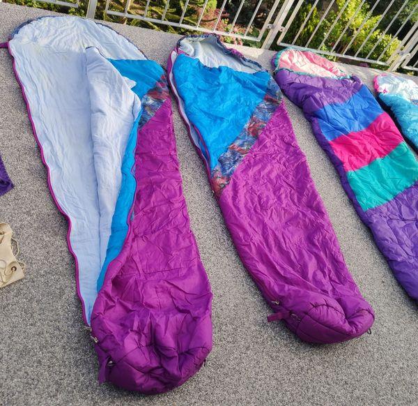 3 Schlafsäcke Hütte Camping Mumienform