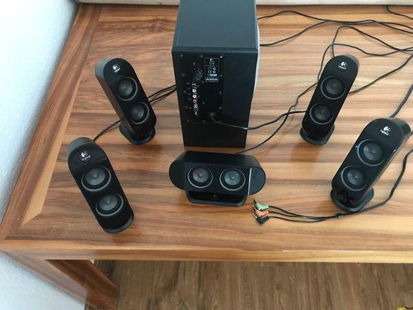 logitech X-530 5 1 Soundsystem