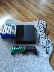 Playstation 4 inklusive 2 Controller