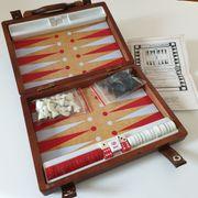 Backgammon- Schachspiel - Reisegröße