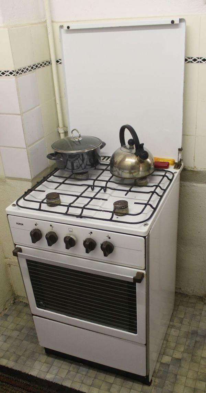 Gasherd Foron mit vier Kochbereichen