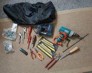 Haushaltauflösung1 Tasche voll Werkzeug