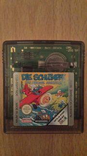 GameBoy Spiel Die Schlümpfe Game