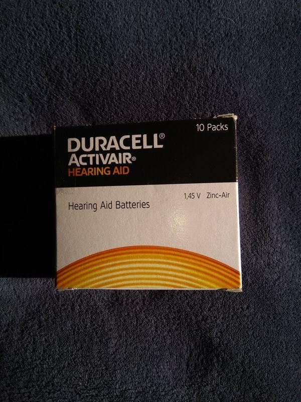 Hörgeräte-Batterien