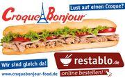Croque Bonjour sucht Küchenmitarbeiter Telefondienst
