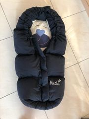 Winterfußsack Mucki Odenwälder BabyNest dunkelblau