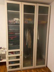 PAX Kleiderschrank 250cm weiß