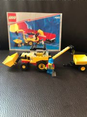 Lego 4543 Railroad Traktor Bagger