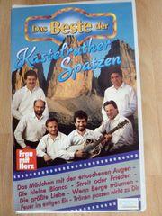 VHS Videocassette Kastelruther Spatzen