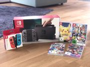 nintendo switch Spiele extra Controller