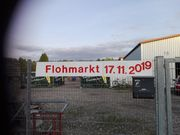 Privater Hallenflohmarkt Save the Date