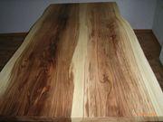 Echtholz Tischplatte Urwelt Mammutbaum Massivholz
