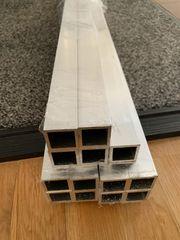 Alu Vierkantrohr - 30x30x2mm - 2m Länge