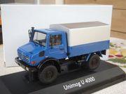 NZG Mercedes Unimog U4000 1