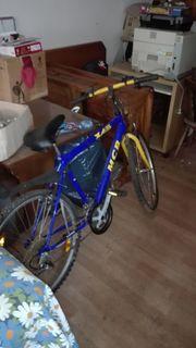 Fahrrad Herrenrad MCB Helm Schloss