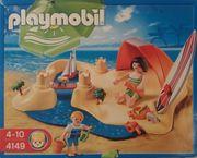 Playmobil 4149 Strandurlaub 4134 Eisdiele