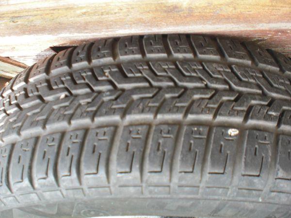 2 ALLWETTER RÄDER - Worms Weinsheim - 2x ALLWETTER Reifen 175/65 R14 T, Profil 5 mm, auf Stahlfelgen, für Citroen/Peugeot/Ford.DOT 34 13 - Worms Weinsheim