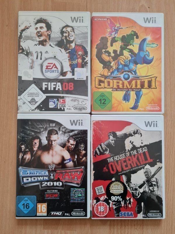 Nintendo Wii Spiele