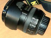 Lichtstarkes Nikon Zoomobjektiv Nikkor 16-85mm