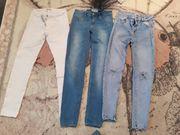 5x Bershka Jeans im Paket
