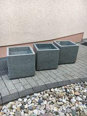 Neue Granit Naturstein Pflanzkübel