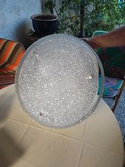 Kristall-Deckenlampe
