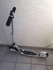 micro scooter interlock Zahlenschloss weiß