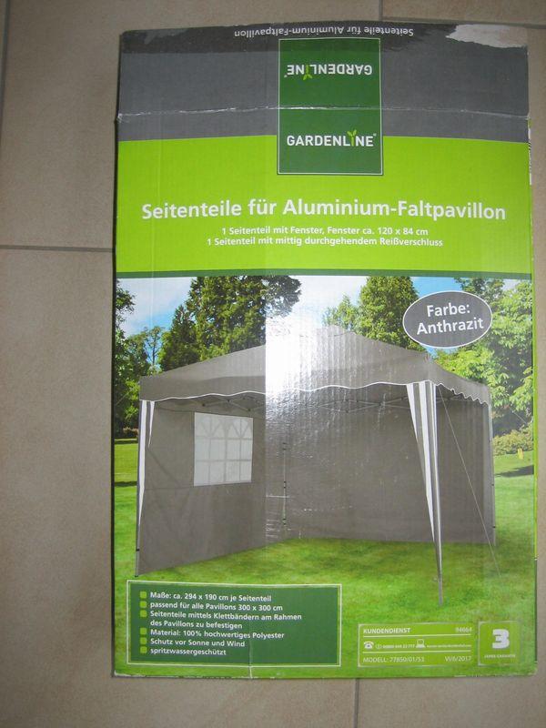 Pavillon 5-Stoffteile von Lidl