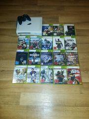 Xbox 360 mit 18 Spiele
